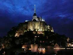 Fietsen naar de Mont-Saint-Michel